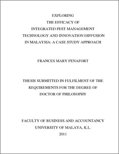 case study cover page