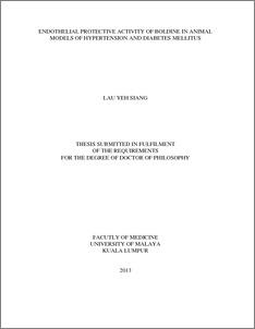Diabetes phd thesis